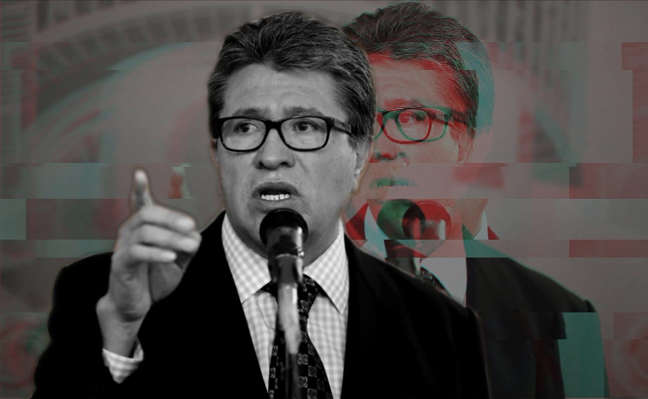 "Afirma Monreal que Senado adoptará posición colegiada sobre ""Ley Bonilla"""