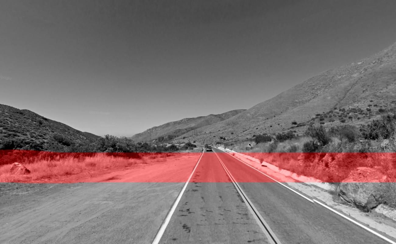 Balacera en la carretera Ensenada -Tecate deja una persona ejecutada