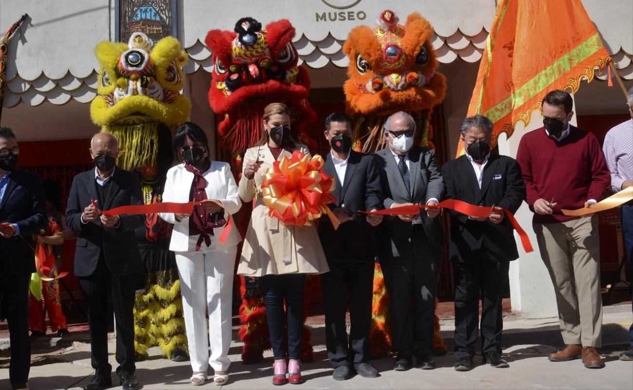 Inaugura Marina del Pilar Museo de la Comida China de Mexicali