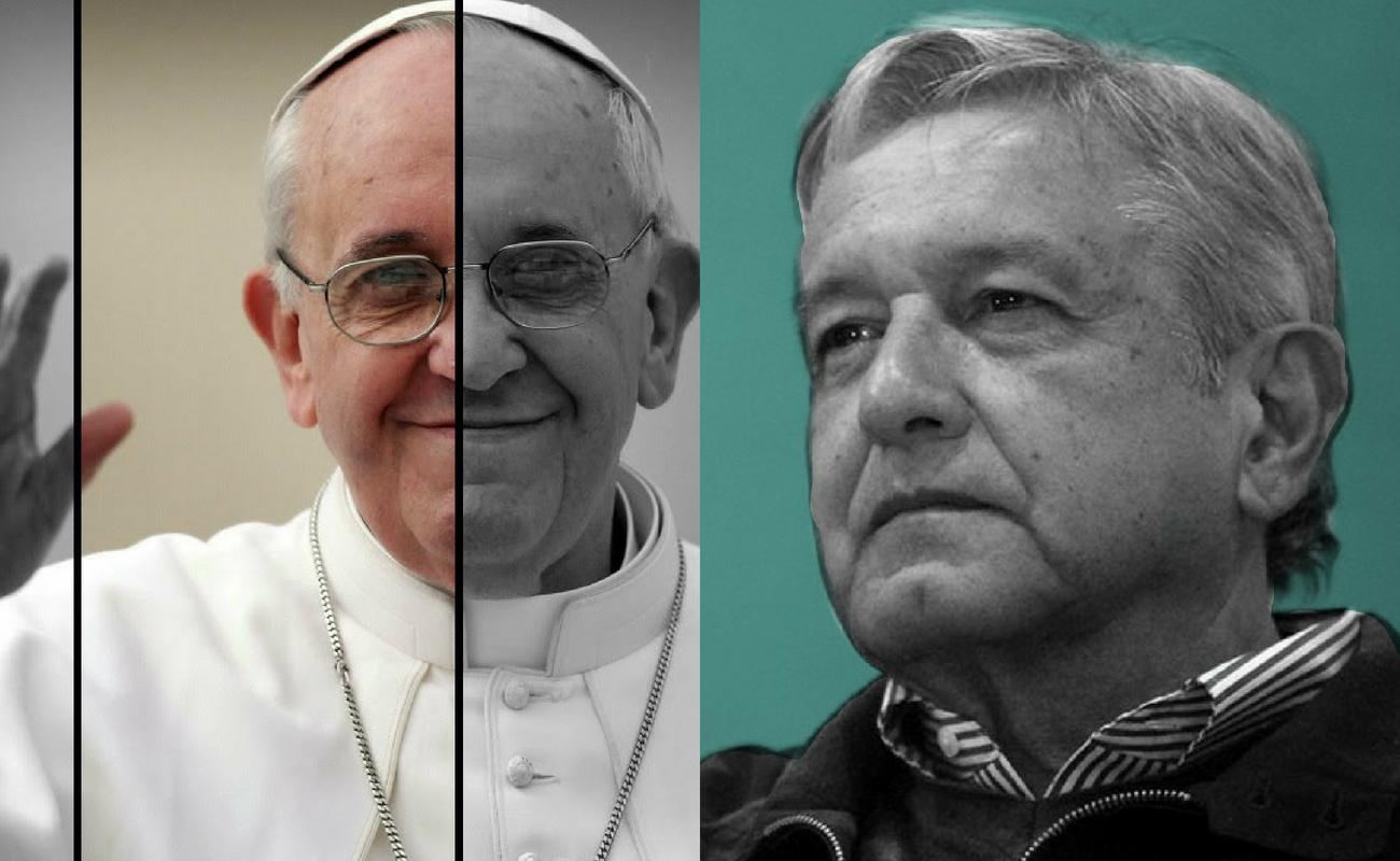 Falso que el Papa participe en foros de pacificación de AMLO