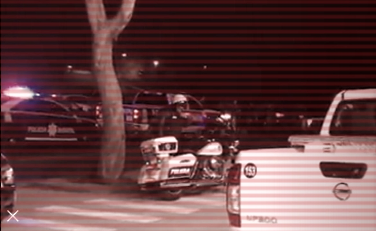 Frustra policía municipal robo de vehículos semiusados de establecimiento en la Vía Rápida