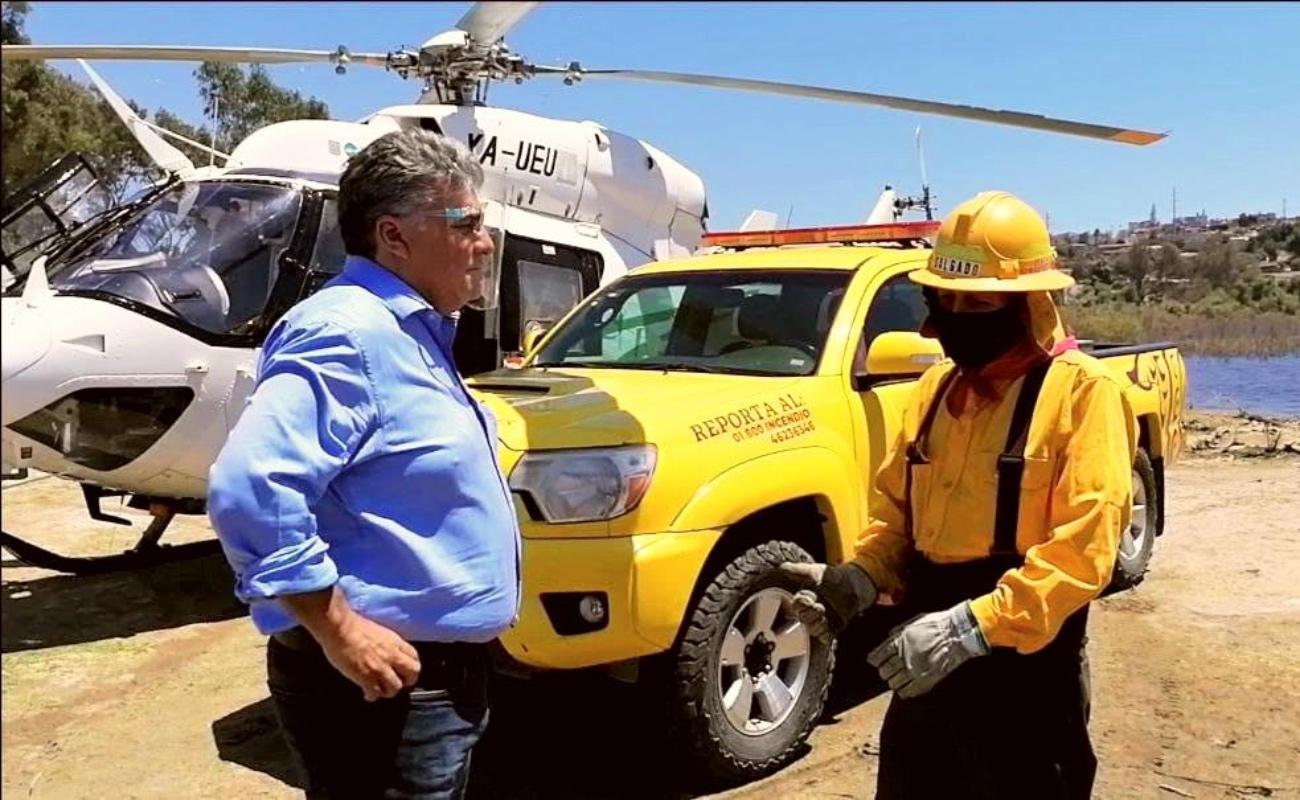Destacan labor de Combatiente de Incendios Forestales en México