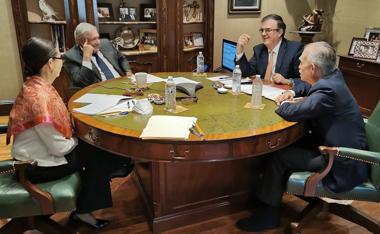 Sostienen López Obrador y Joe Biden primer contacto telefónico
