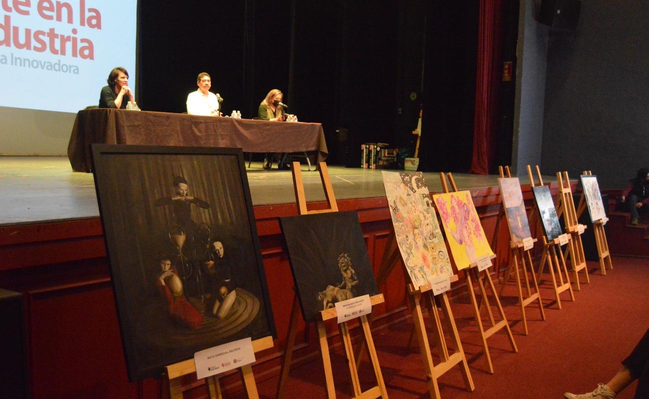 Premia Arte en la Industria a ganadores del Primer Concurso de Pintura y Dibujo