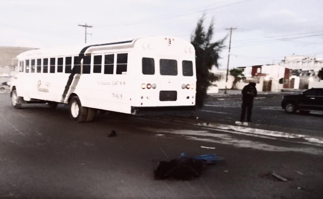Hombre murió atropellado por autobús de personal en Natura