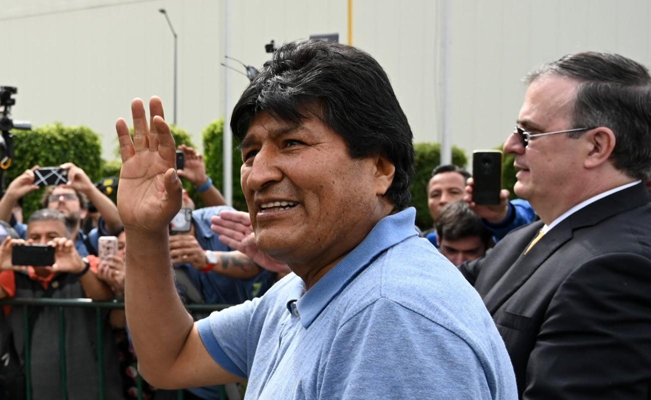 El Gobierno de México me salvó la vida: Evo Morales