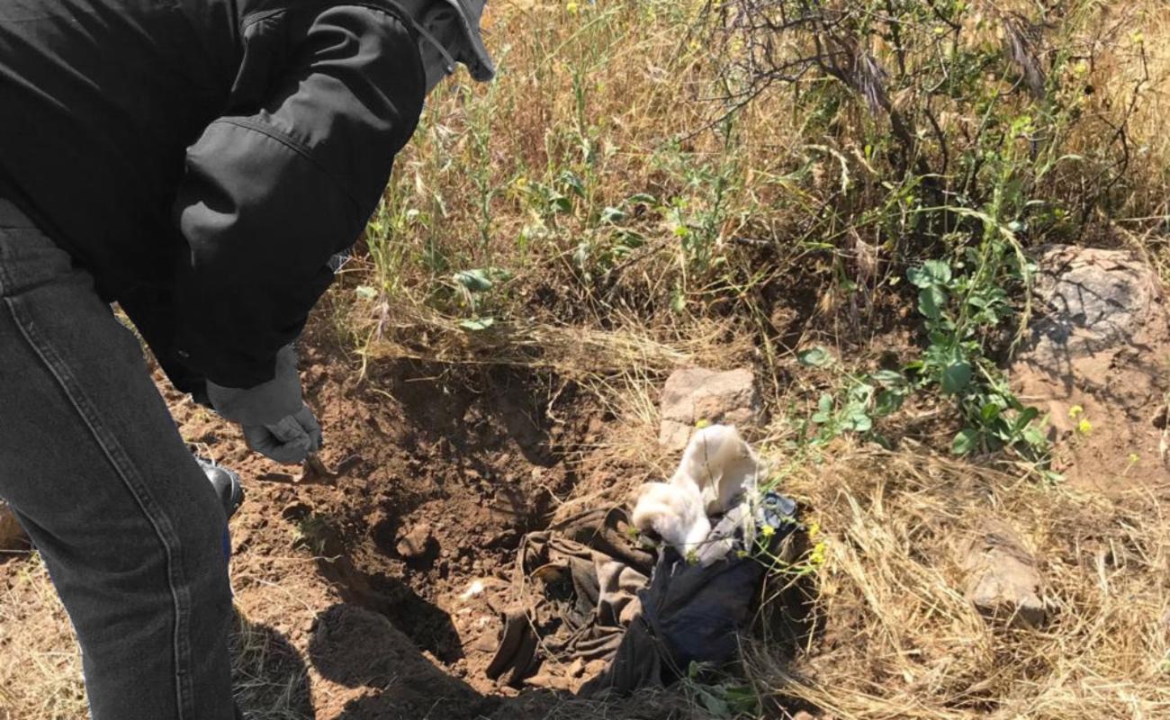 Hallan restos humanos en el fraccionamiento Las Delicias