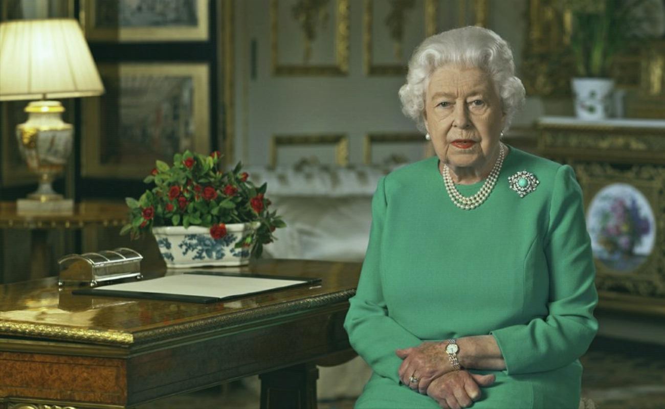 Isabel II manda mensaje de esperanza por coronavirus