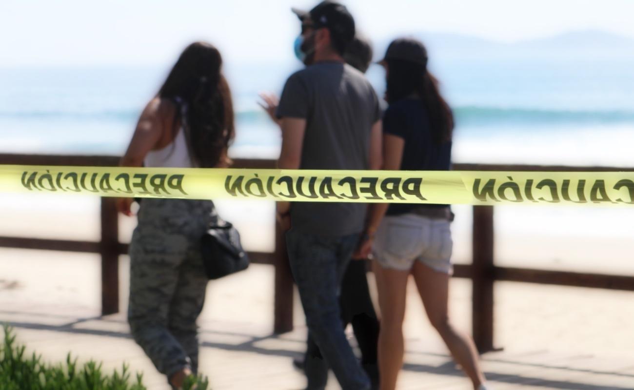 Anuncian cierre preventivo en las playas de Tijuana