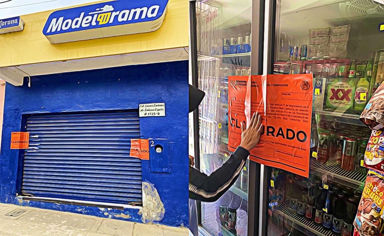 Clausuran 80 negocios por incumplir protocolos sanitarios en Tijuana