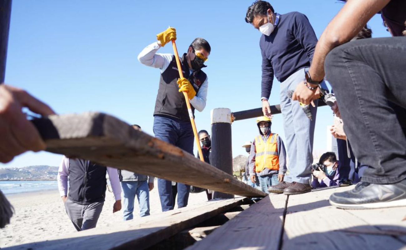 Arranca renovación de malecón y núcleos de servicios en Playa Hermosa