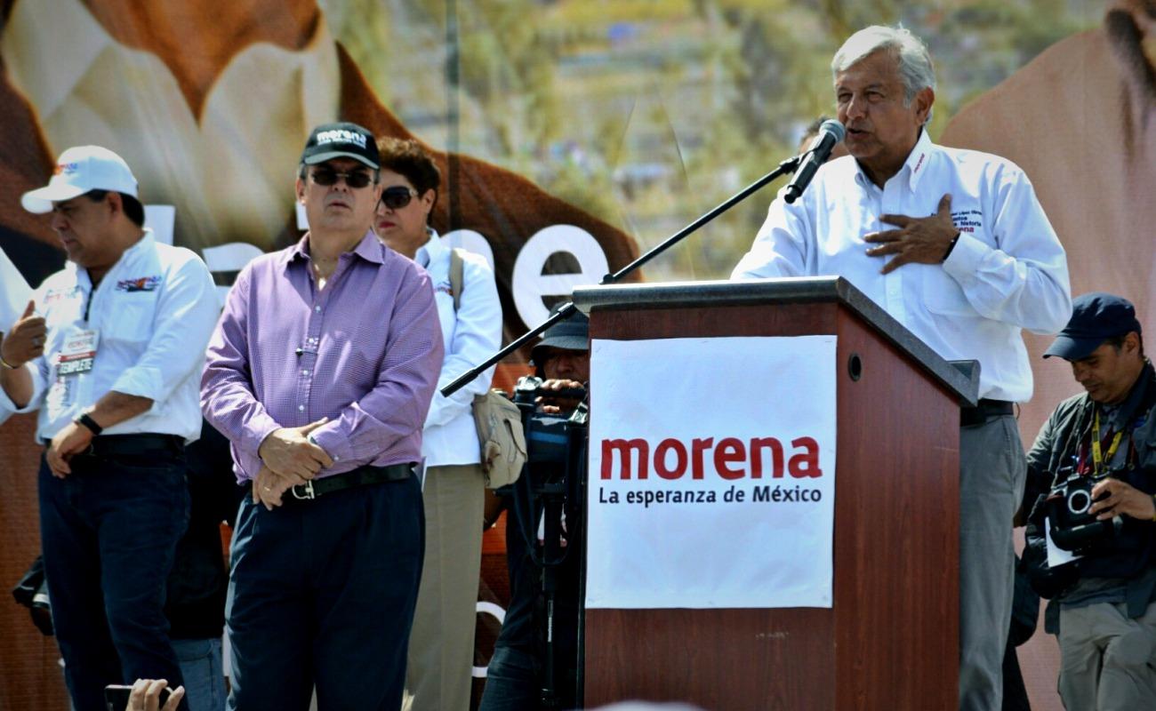 Voy a ganar por diferencia de 10 millones de votos: AMLO en Ensenada