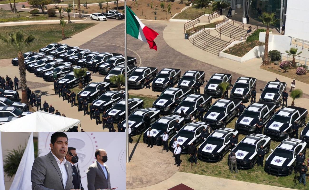 Entrega Armando Ayala 50 nuevas patrullas a policía de Ensenada