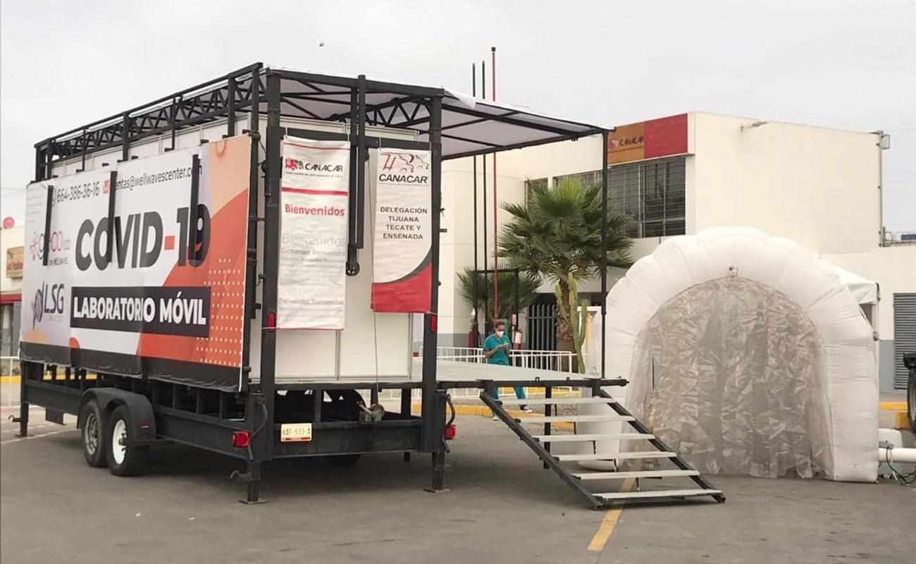 Ponen en marcha laboratorio móvil de pruebas Covid-19para el sector transportista de carga