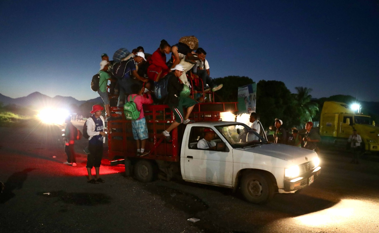 Caravana migrante recorrerá doble de distancia si escoge Tijuana para ir a EU