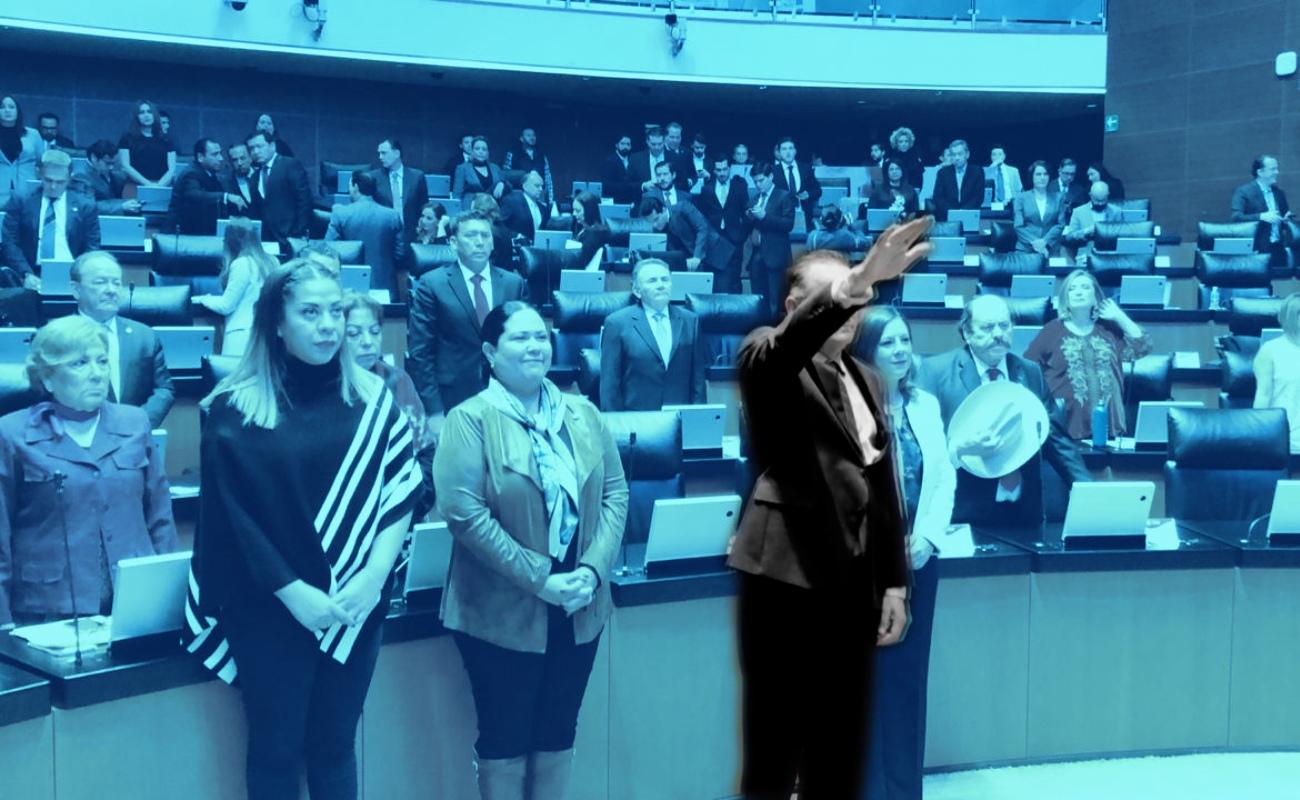 Rinde protesta Gerardo Novelo como senador de la República por BC