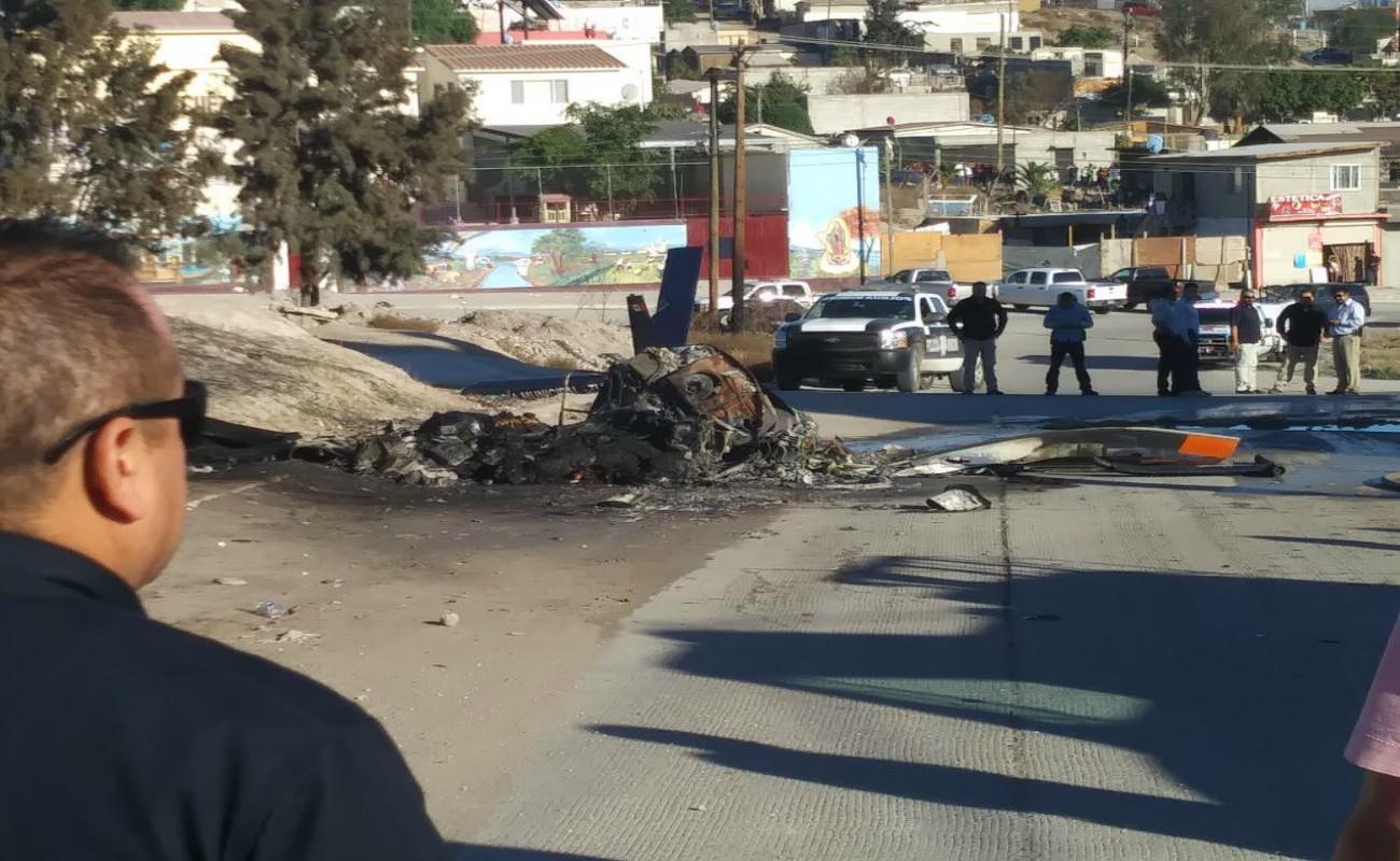Cayó helicóptero Pegaso; mueren dos personas