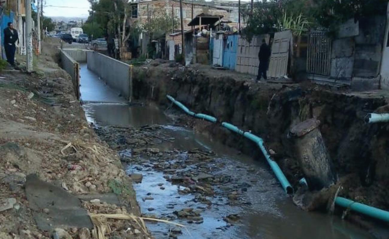 Afectan lluvias descargas de aguas residuales domésticas