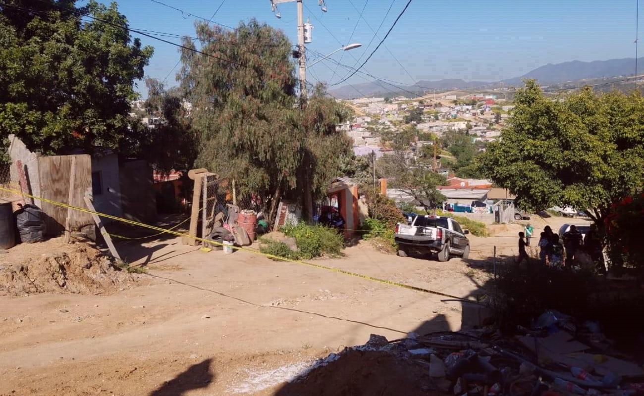 Matan a un hombre en la colonia 89 de Ensenada