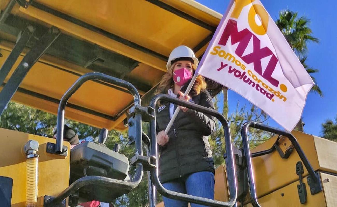 Optimizan más obras para Mexicali