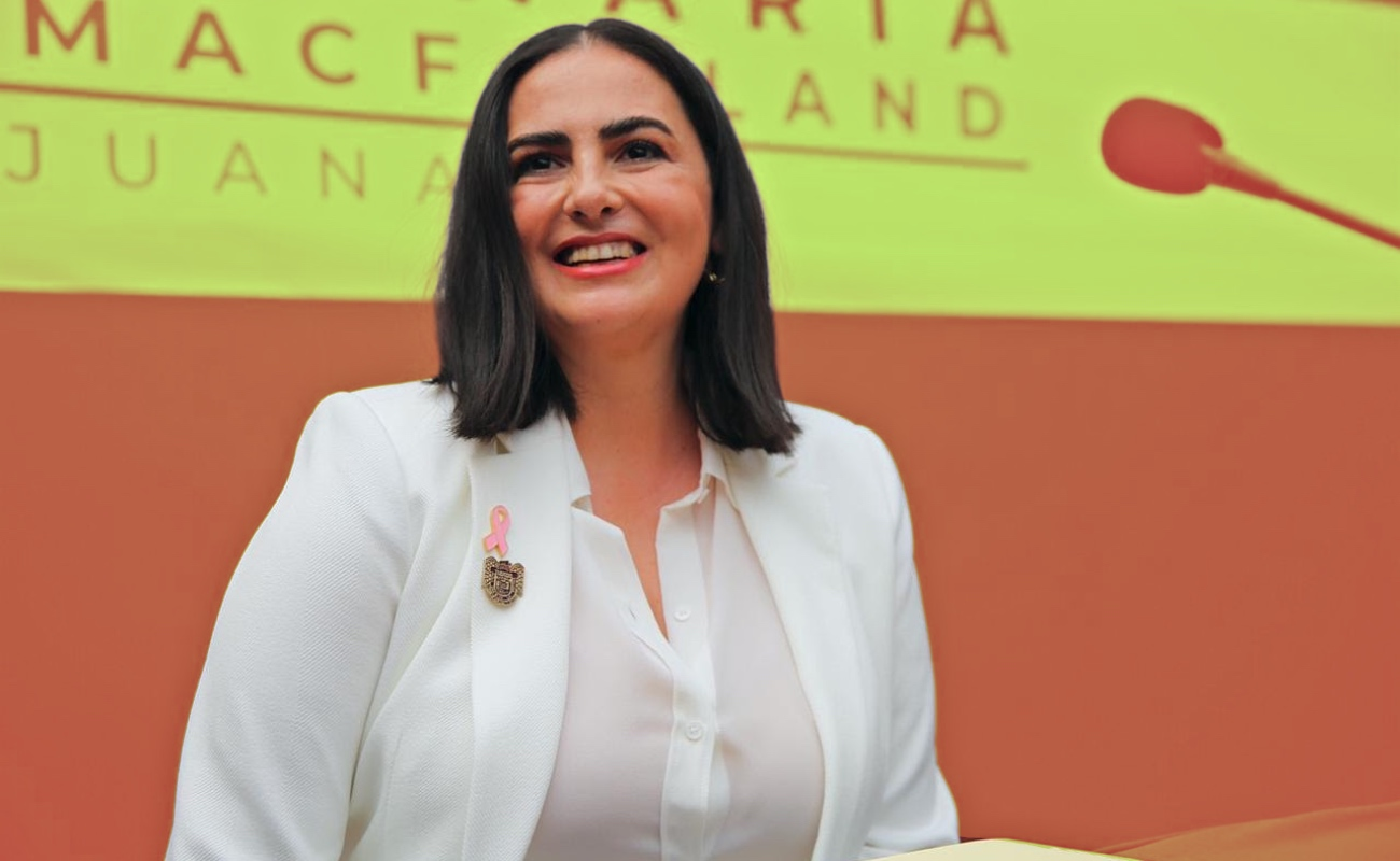 Asume Karla Ruiz McFarland presidencia municipal de Tijuana