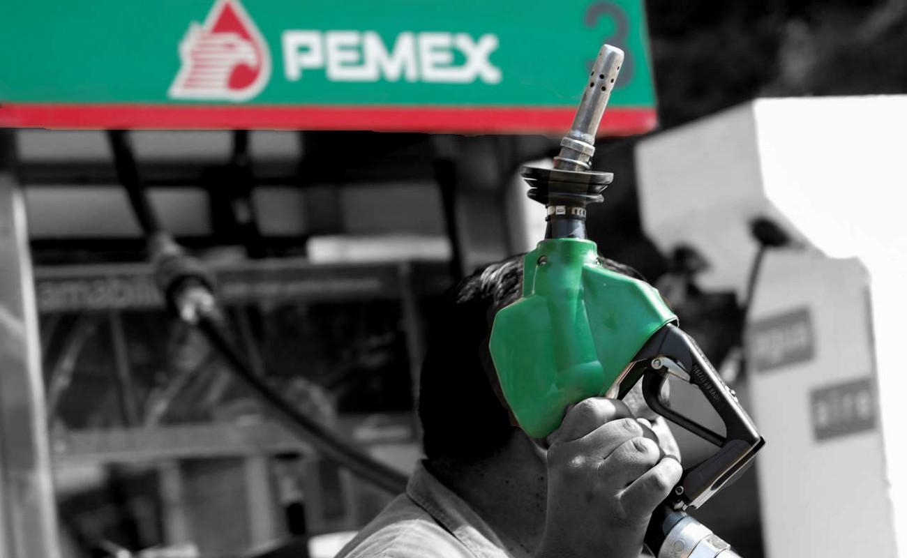 Acumula venta de gasolinas caída anual de 22% entre enero y agosto