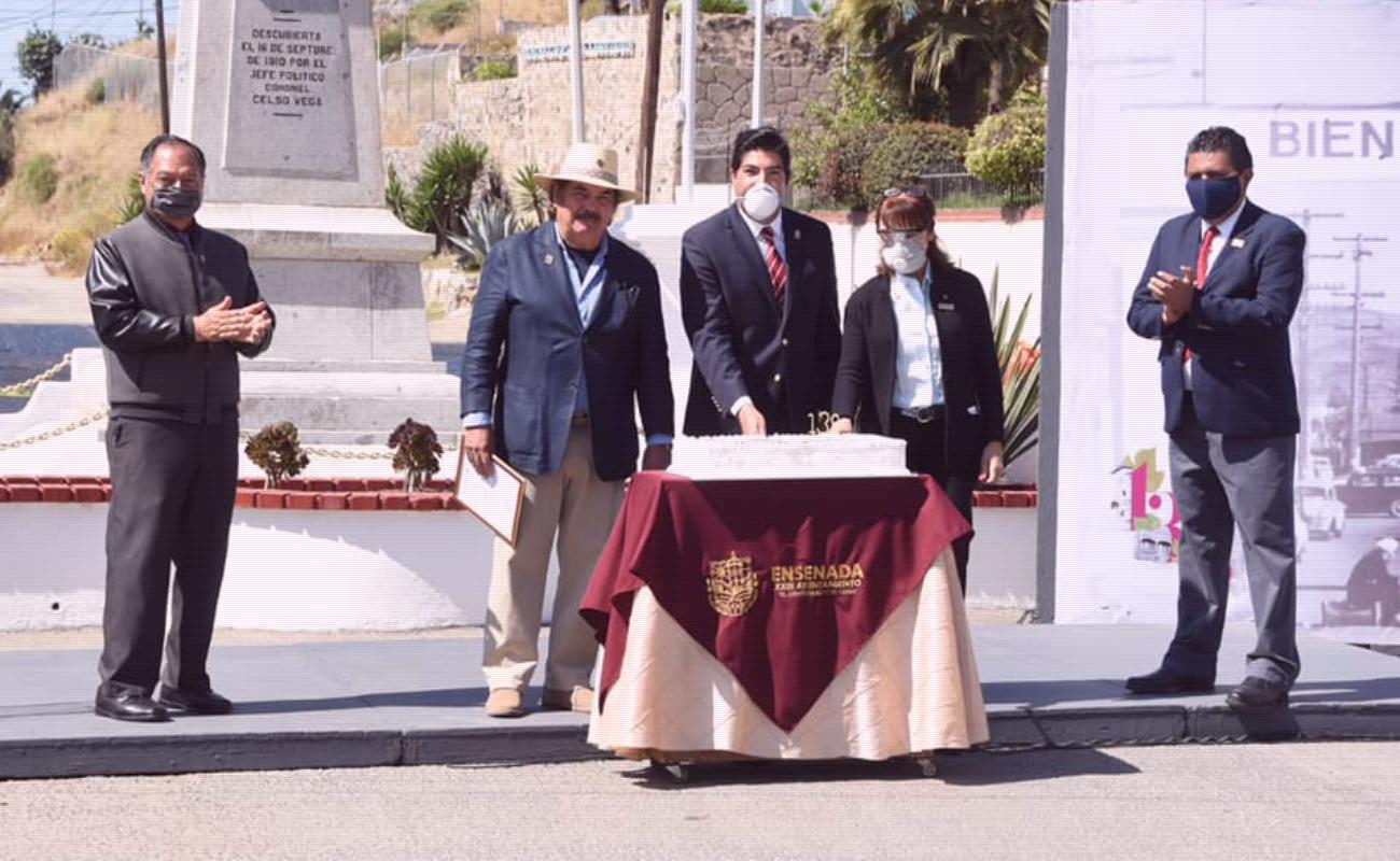 Celebran 138 aniversario de la fundación de Ensenada