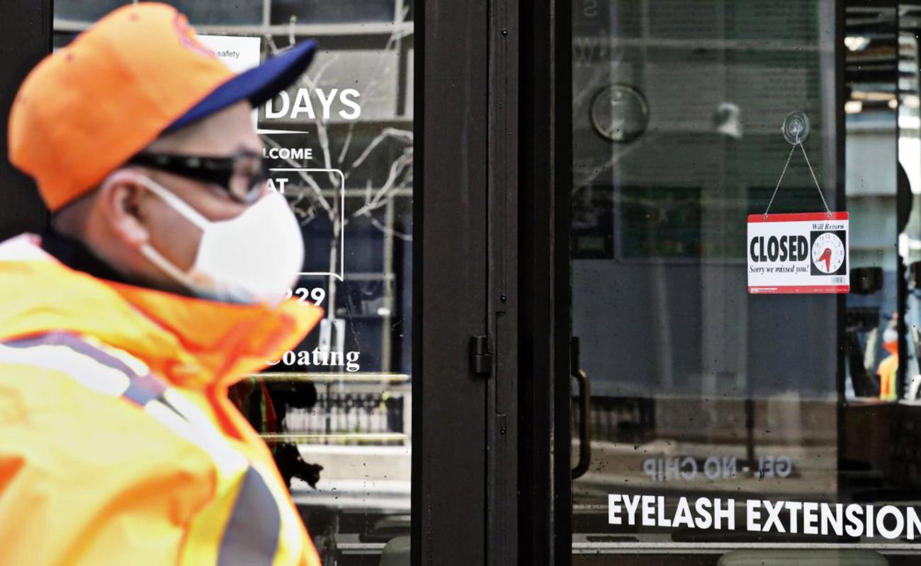 Desempleo en Estados Unidos crece en tres millones esta semana