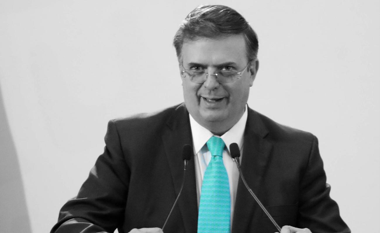 México usará su peso moral y político en conflicto de Venezuela, afirmó Ebrard