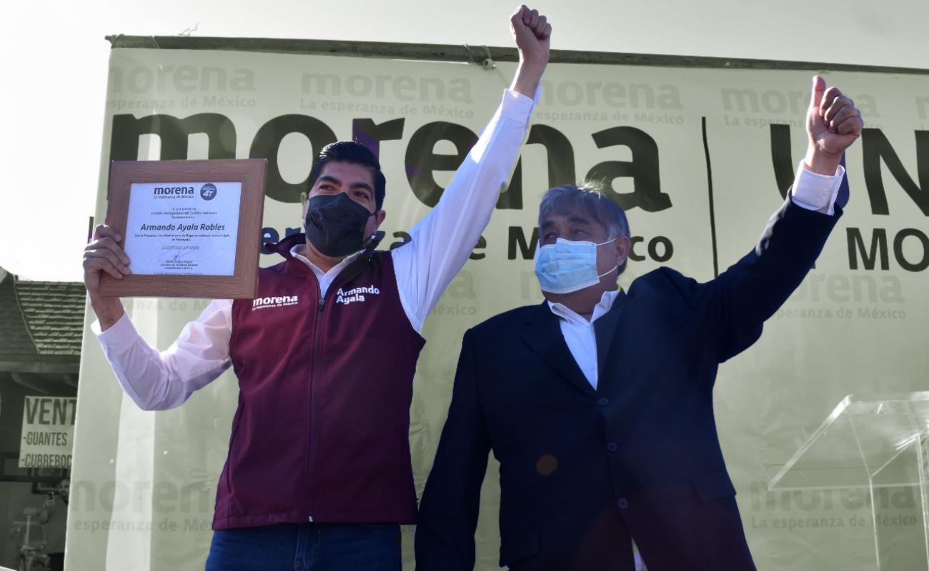 Va Armando Ayala por la reelección en la alcaldía de Ensenada