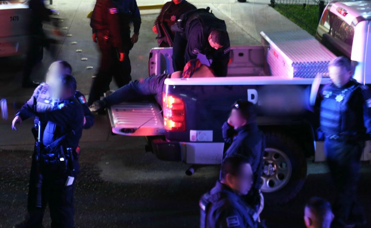 Agentes de la Estatal Preventiva salieron ilesos tras ataque