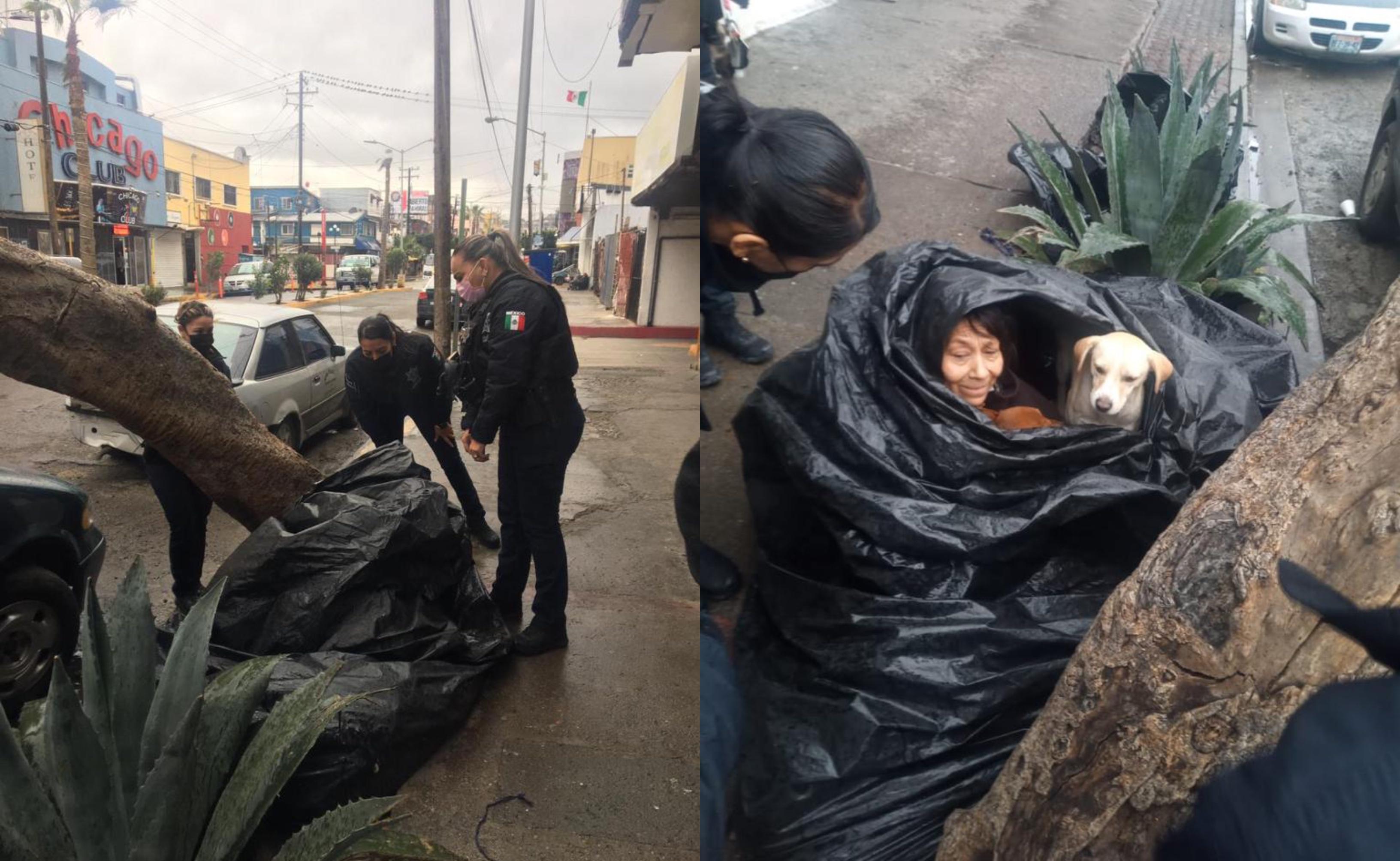 Ante onda gélida realizan operativo para resguardar a personas en situación de calle