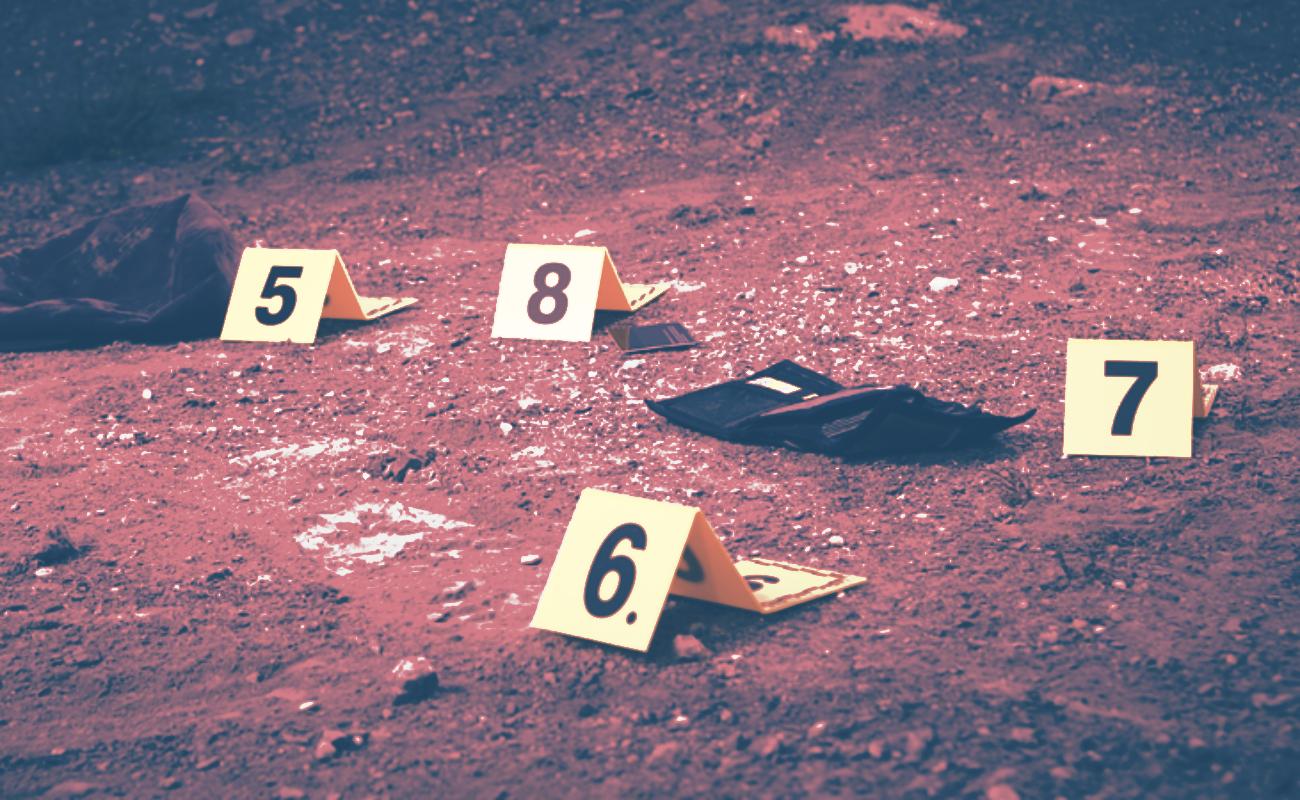 Localizan 14 casquillos en escena donde fue baleado niño de seis años de edad