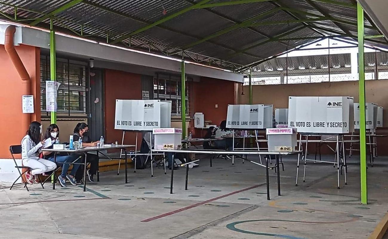 Participó menos de 8% de los ciudadanos en consulta popular, reporta el INE