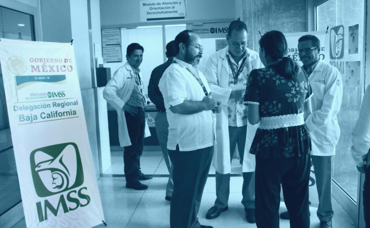 Logra IMSS BC 98 por ciento de abastecimiento de medicamento en 2019