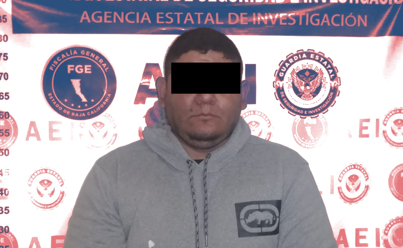 Capturan por homicidio a líder de organización criminal en Tecate