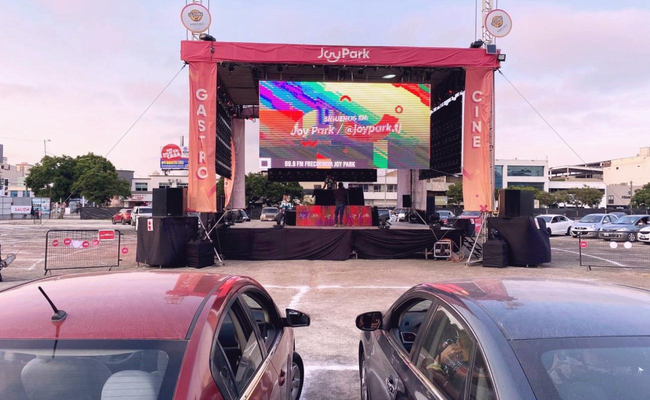 Inauguran en Tijuana autocinema Joy Park Tj