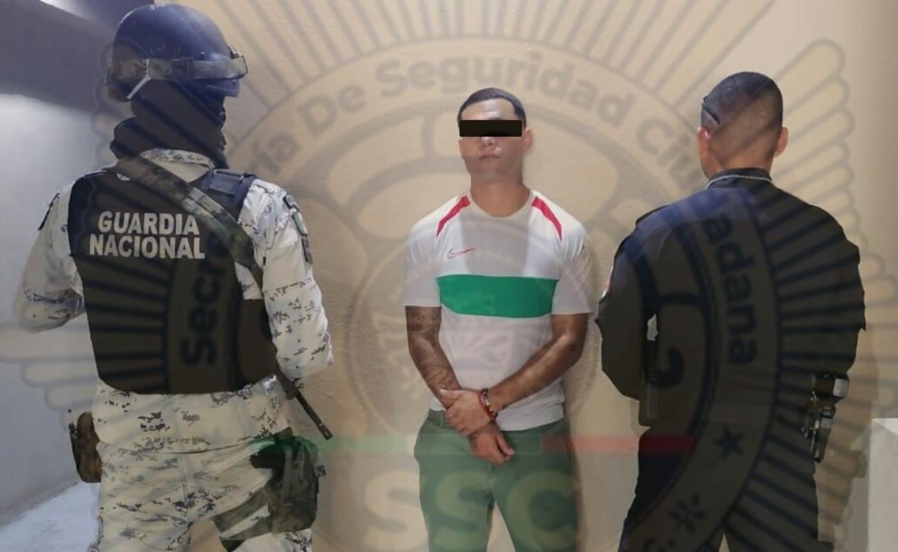 Capturan en Rosarito a sujeto con orden de aprehensión en Estados Unidos