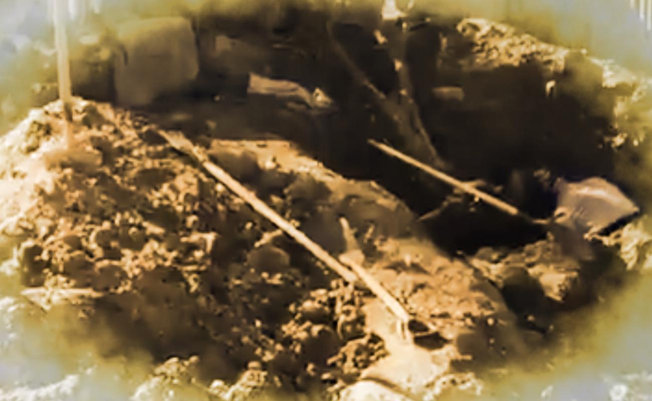 Localizan otras tres osamentas en fosa clandestina del Maclovio Rojas