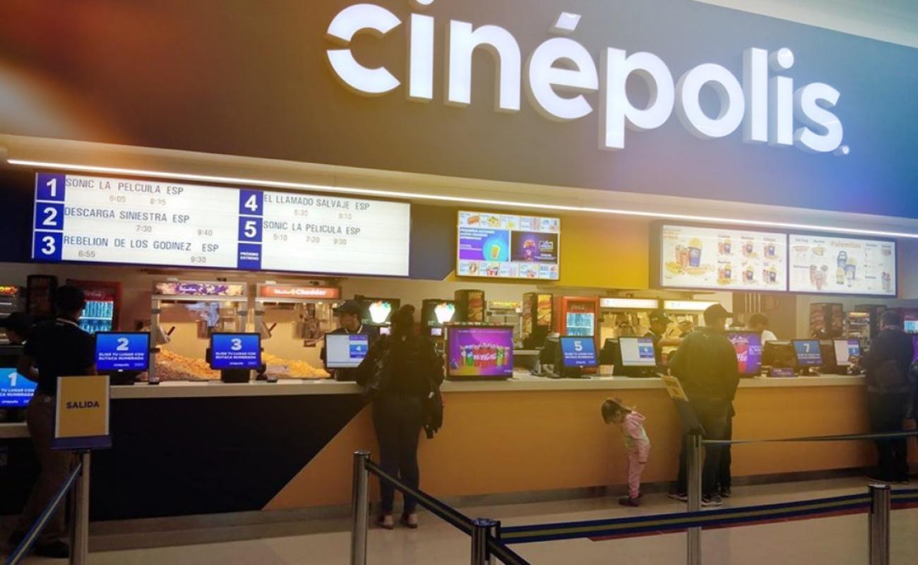 Cinepolis suspende operaciones por coronavirus
