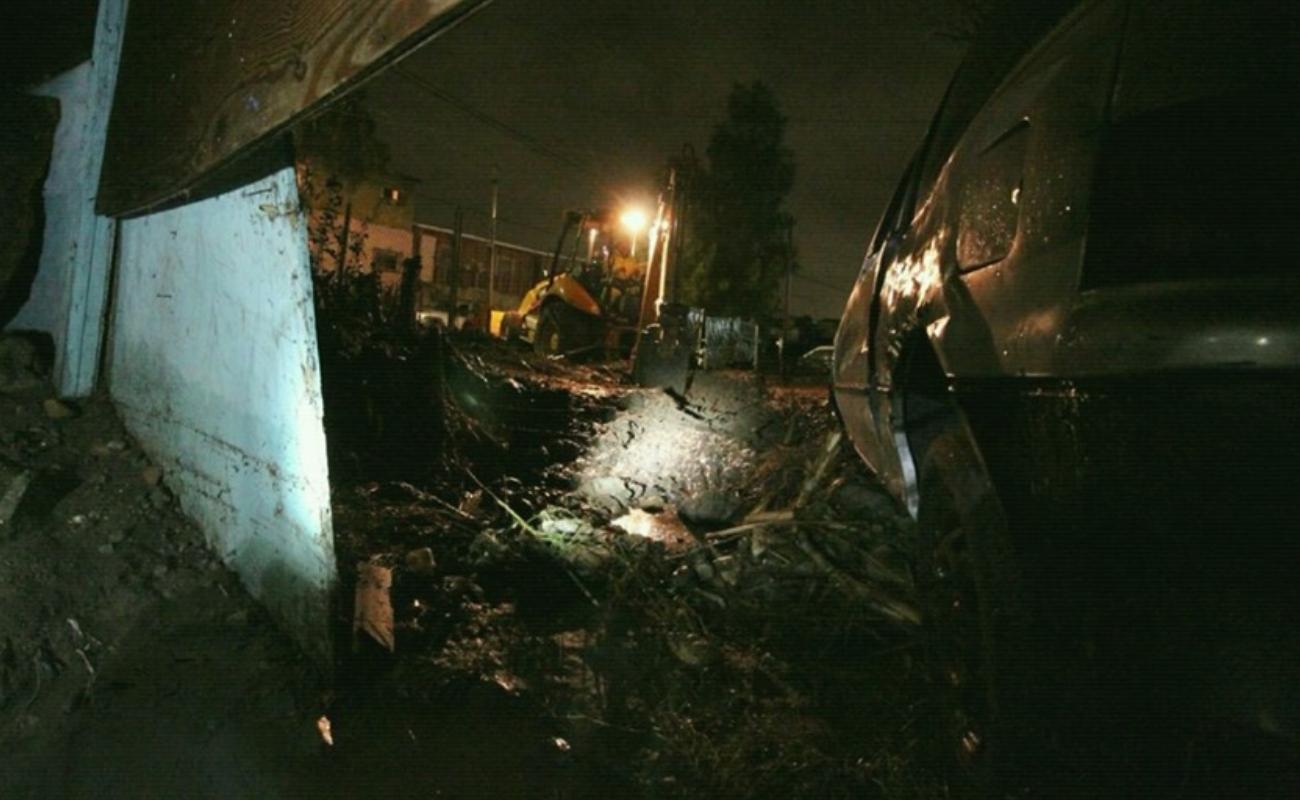 Reportan saldo blanco en Tijuana por lluvias