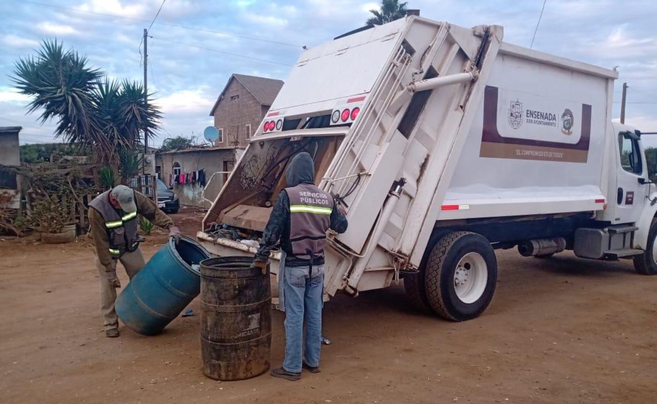Disminuye rezago de servicios públicos en el sur de Ensenada