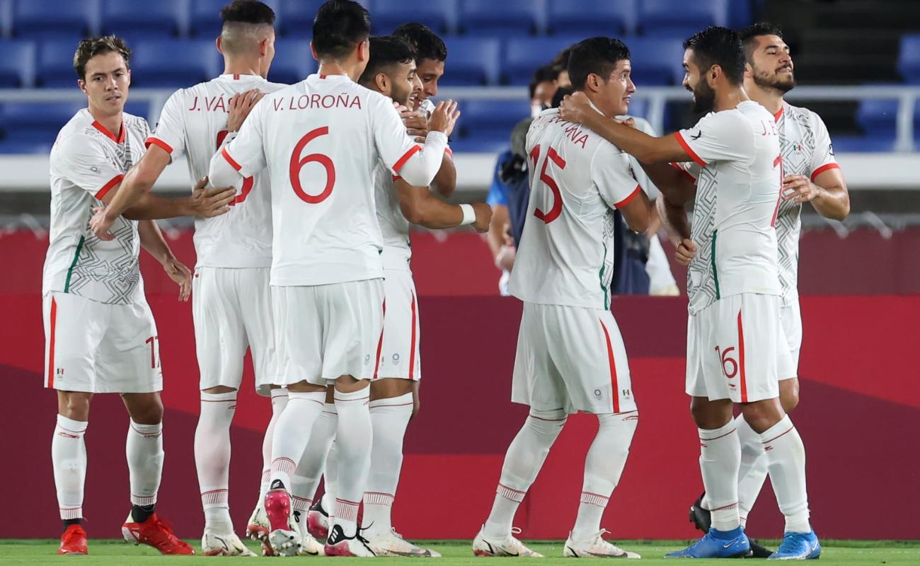 México golea a Corea del Sur y avanza a semifinales del futbol masculino en Tokio 2020