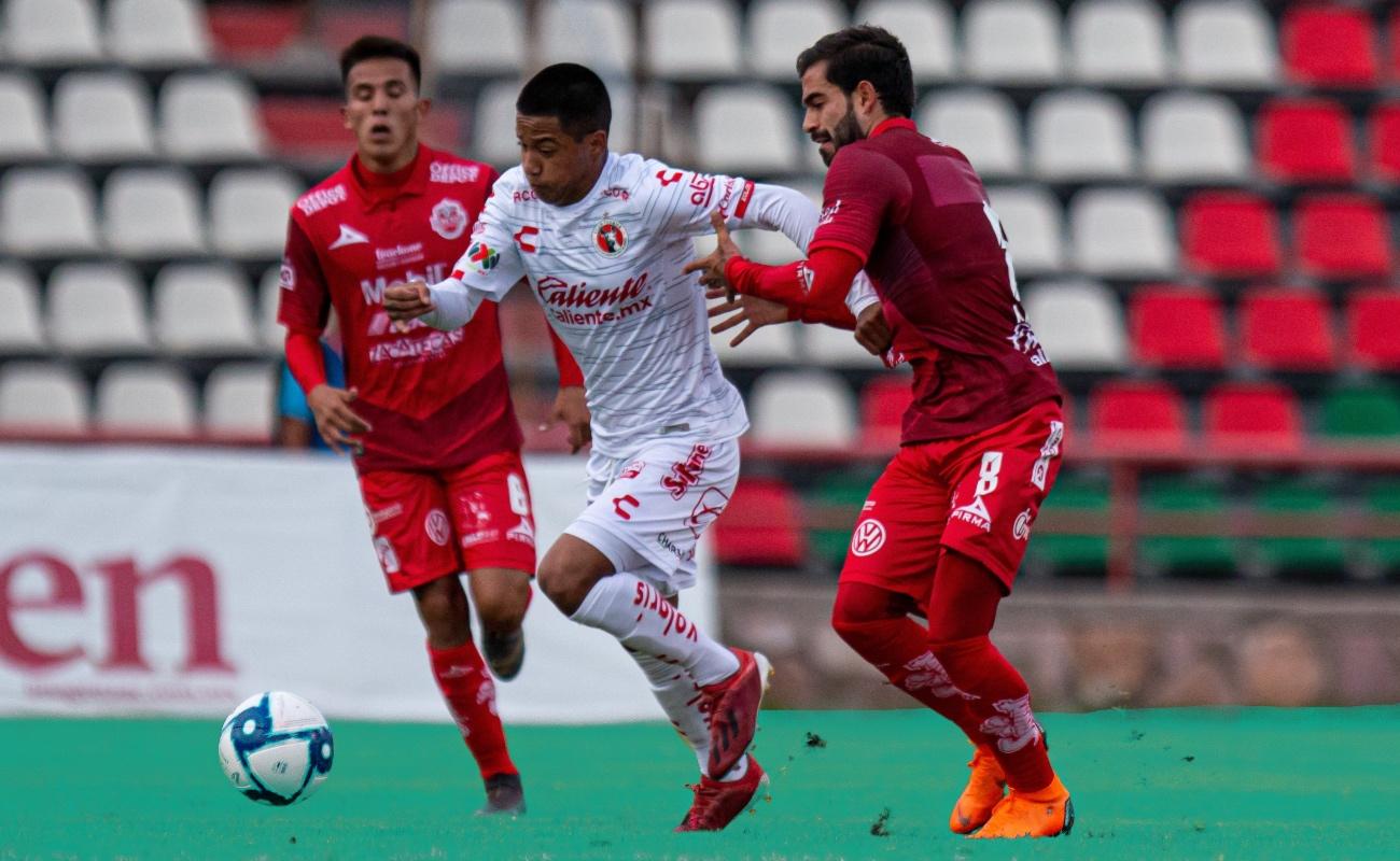"""""""Cubo"""" Torres da el gol del triunfo a Xolos ante Zacatecas"""