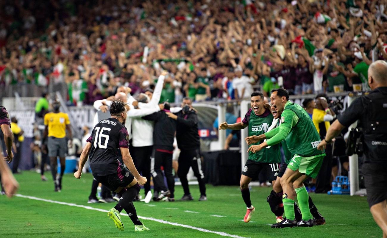 Con gol de último minuto, México gana a Canadá y pasa a la final de la Copa Oro