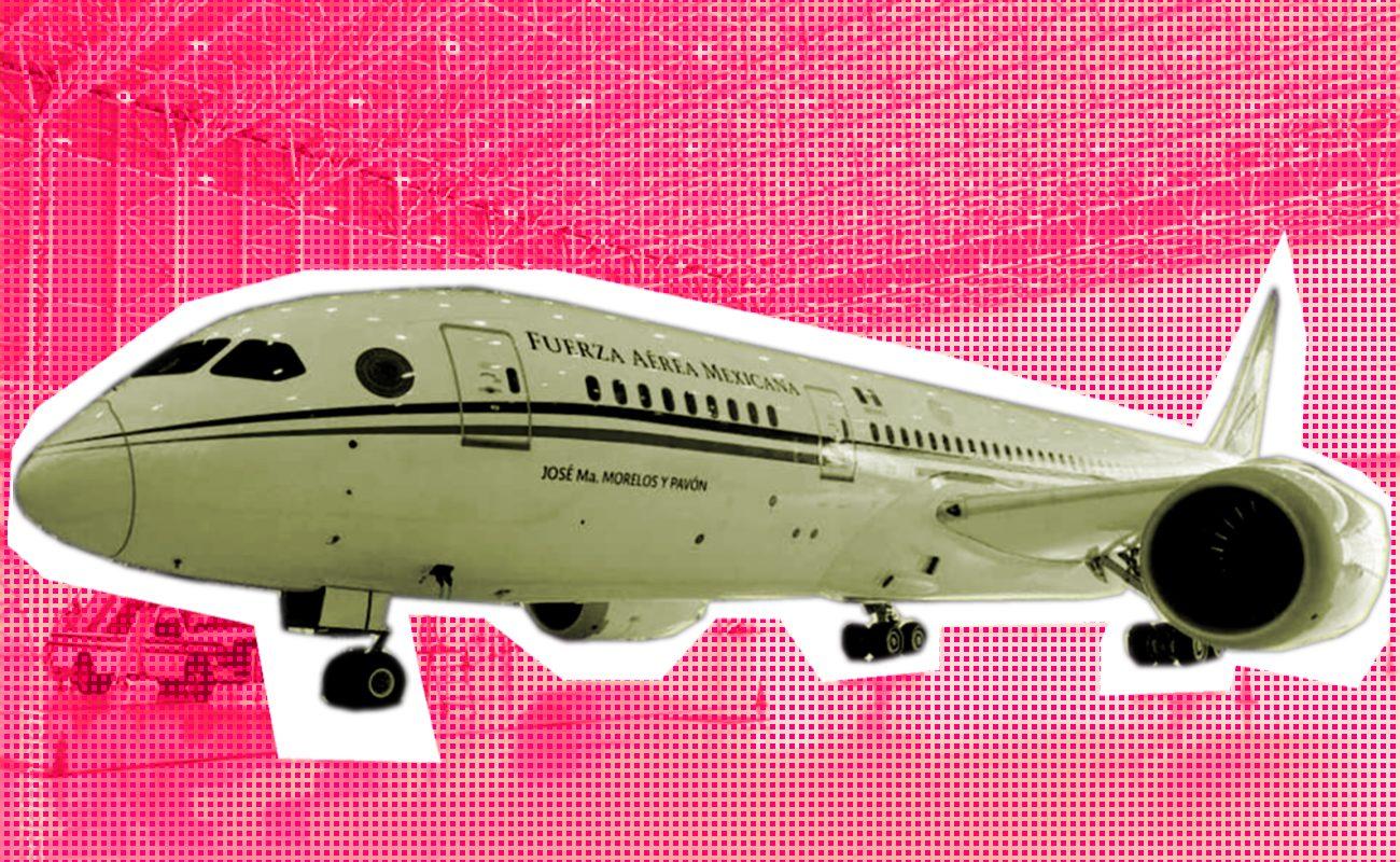 Regresa a México avión presidencial al no poderse vender en California