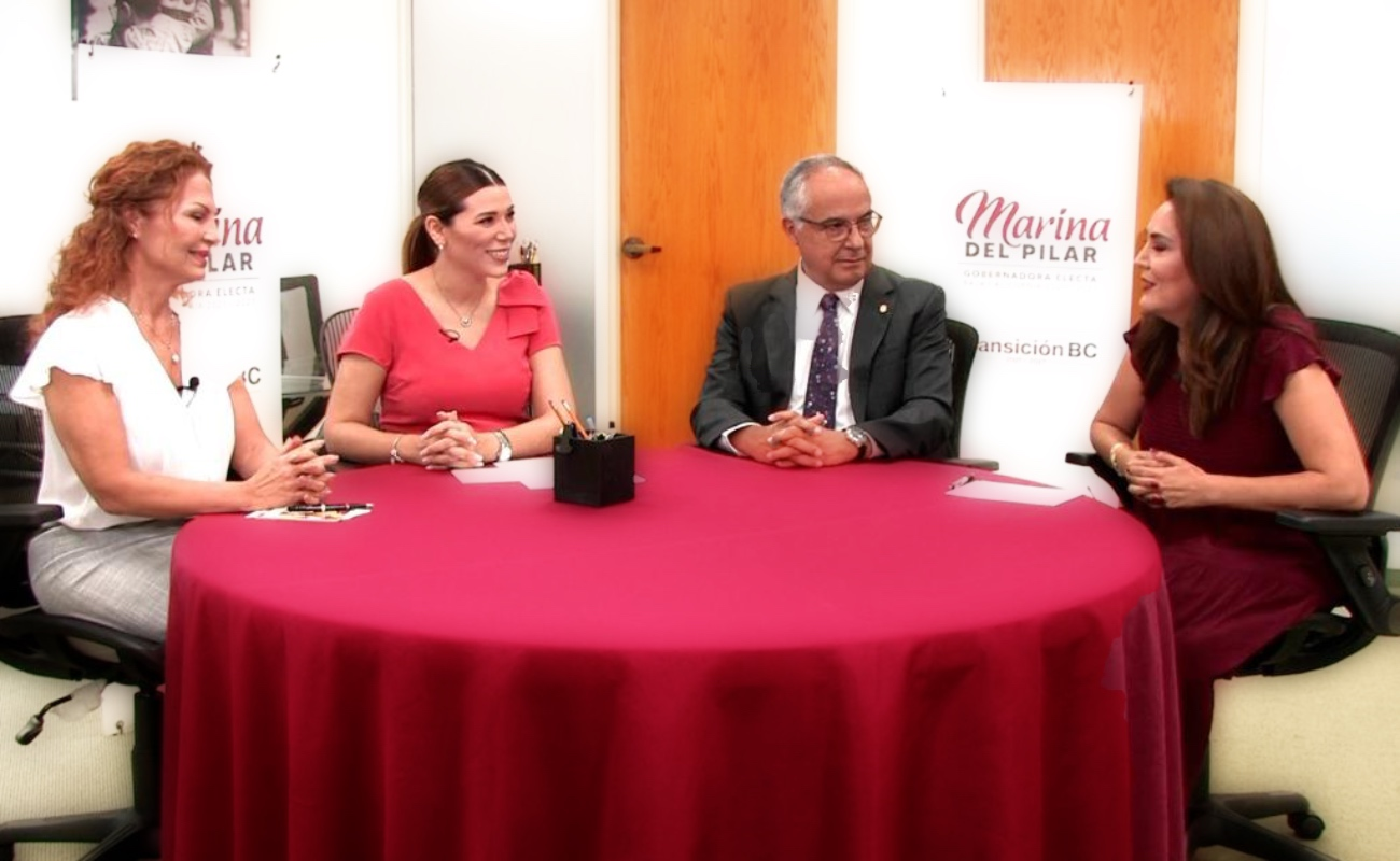 Presenta Marina del Pilar a titulares de Inclusión, Oficialia Mayor y Coordinador de Gabinete