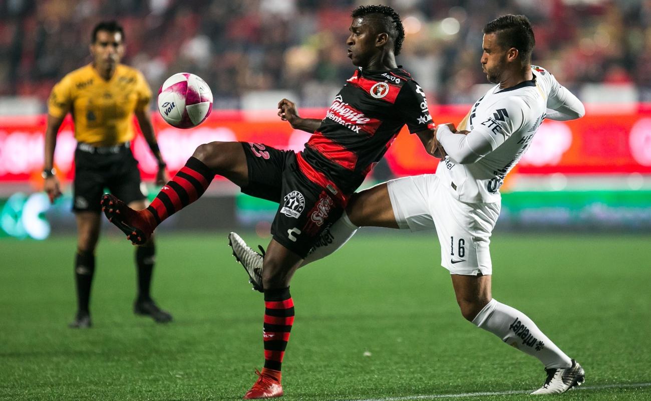 Xolos ligó cuatro partidos sin ganar, cayó 0-1 ante Pumas