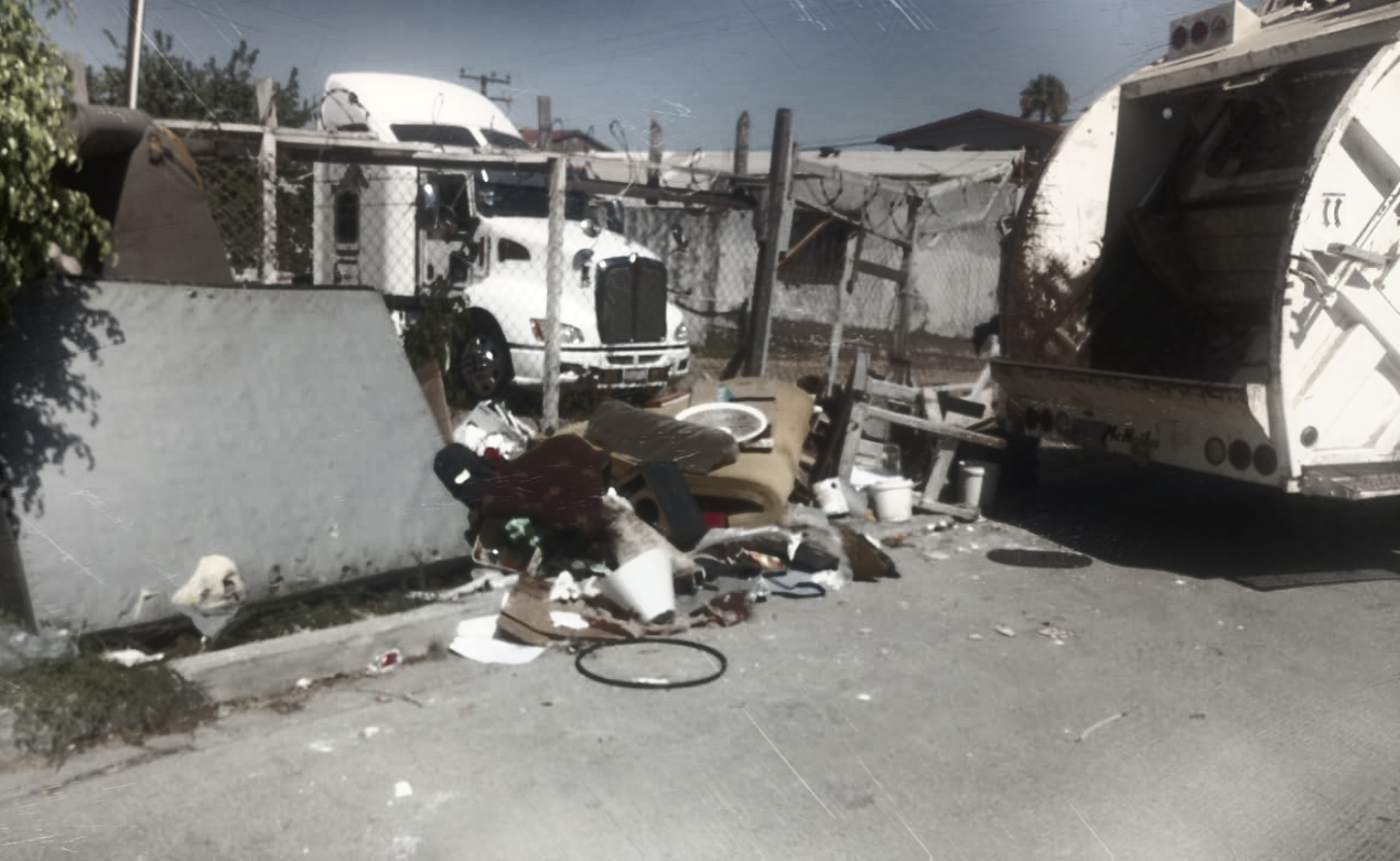 Continúan las jornadas para retirar basura pesada de las colonias