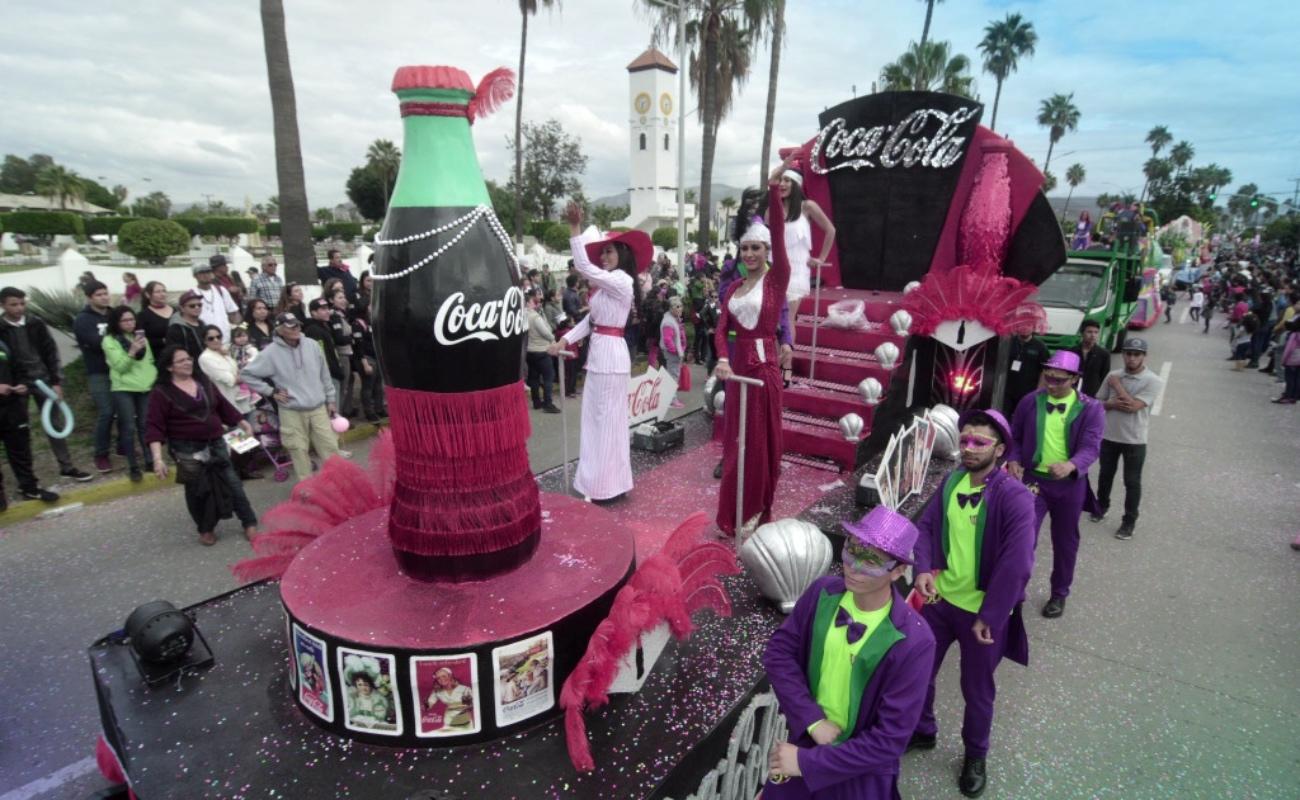 Aprueban concesión para realizar Carnaval de Ensenada 2020